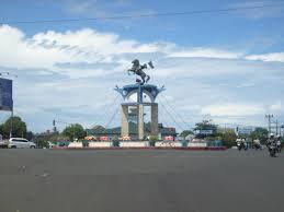 patung kuda simpang 5 bengkulu