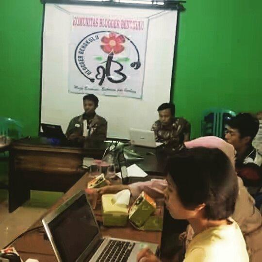 Sejarah blogger Bengkulu
