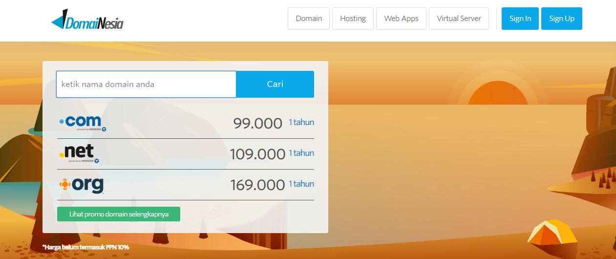 domain termurah indonesia
