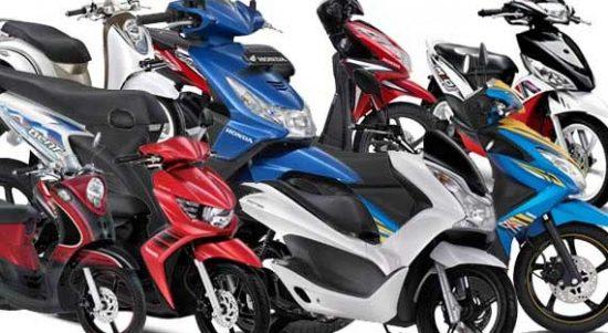 harga sepeda motor honda dan yamaha