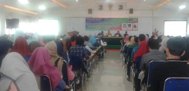 Ratusan peserta ikuti seminar nasional dan launching TOEFL ITP UMB