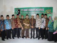 Pelantikan pengurus KAHMI, Wagub Ajak bangun Bengkulu