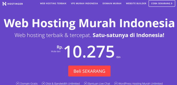 Selain murah, ini 5 alasan kenapa harus pilih Hostinger Indonesia